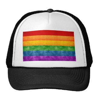 Rainbow or Gay Pride Flag Trucker Hat