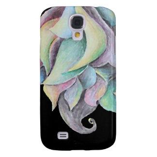 Rainbow Organic Abstract Samsung Galaxy S4 Cases