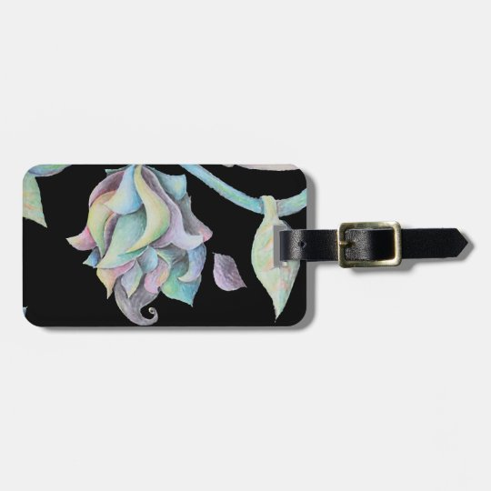 Rainbow Organic Abstract Luggage Tag