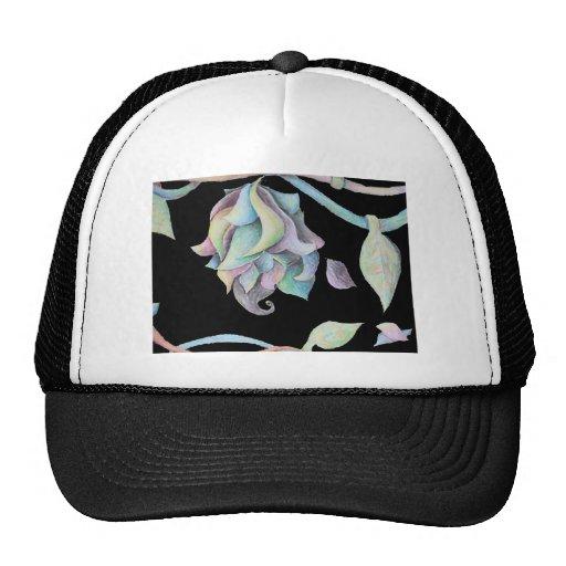 Rainbow Organic Abstract Mesh Hats