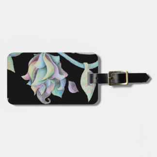 Rainbow Organic Abstract Tag For Luggage