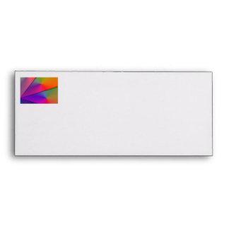 Rainbow Origami – Indigo & Magenta Swirls Envelopes