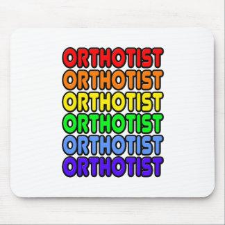 Rainbow Orthotist Mousepads