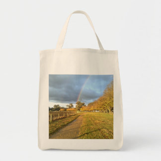 Rainbow over Bacchus Marsh's Avenue of Honour Bags