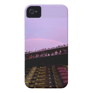 rainbow over concert section 126 lev iPhone 4 Case-Mate case