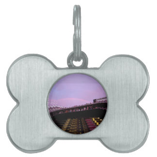 rainbow over concert section 126 lev pet tag