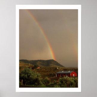 Rainbow over Gardiner 2-Print Poster