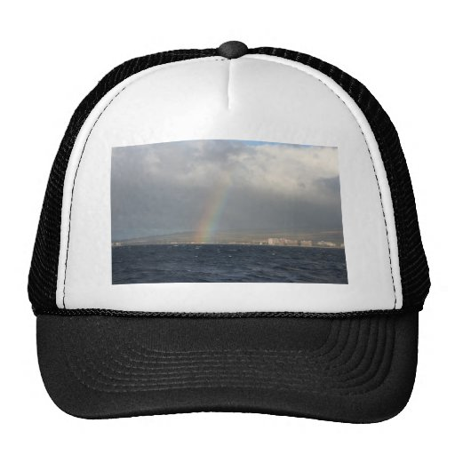 Rainbow Over Hawaiian Trucker Hat