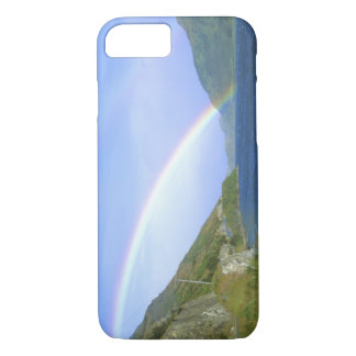 Rainbow over Hawea Lake, South Island, New iPhone 8/7 Case