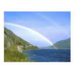 Rainbow over Hawea Lake, South Island, New Postcards