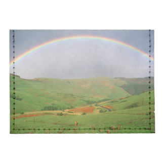 Rainbow Over Hills, Eastern Cape, South Africa Card Wallet