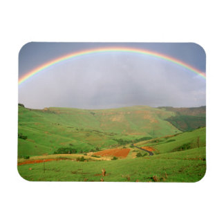 Rainbow Over Hills, Eastern Cape, South Africa Rectangular Photo Magnet