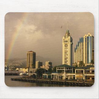 Rainbow over Honolulu, Hawaii, USA 2 Mouse Pad