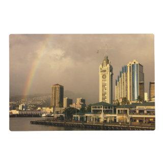 Rainbow over Honolulu, Hawaii, USA 2 Placemat