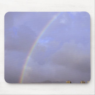 Rainbow over Honolulu, Hawaii, USA Mouse Pad