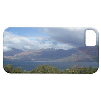 Rainbow over Lake Wanaka, New Zealand iPhone SE/5/5s Case