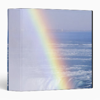Rainbow Over Niagara Falls, New York 3 Ring Binder