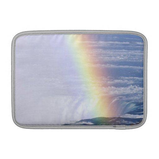 Rainbow Over Niagara Falls, New York MacBook Air Sleeves