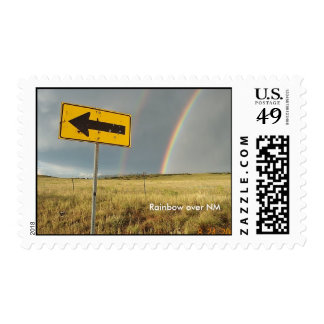 Rainbow over NM Stamps