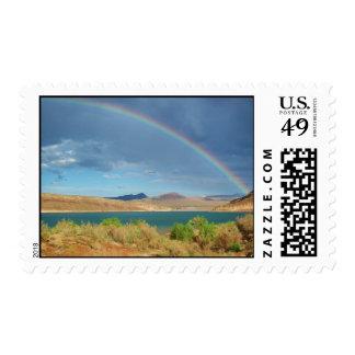 Rainbow over Quail Creek State Park Postage