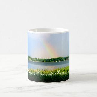 Rainbow over Ross Barnett Reservoir Coffee Mug