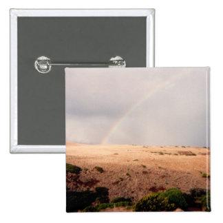 Rainbow over Sand Dunes Pin