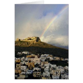 Rainbow over the Kastro Card