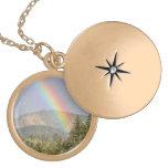 Rainbow Over the Mountains Custom Necklace