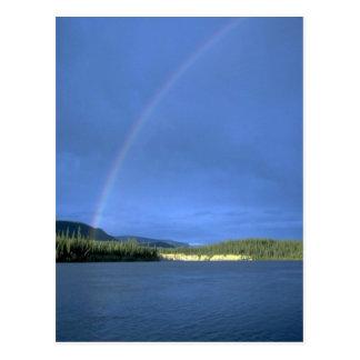Rainbow over the Nahanni River, NWT, Canada Postcard