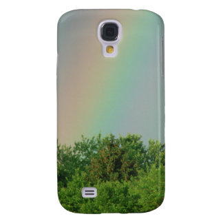 Rainbow Over The Trees Samsung Galaxy S4 Cover