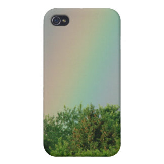 Rainbow Over The Trees iPhone 4/4S Cases