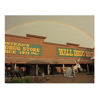 Rainbow Over Wall Drug Postcard