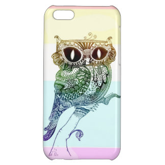 Rainbow Owl - iPhone 5 Case