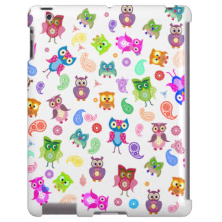 Rainbow owls - light