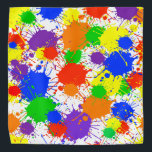 """Rainbow Paint Colorful Bandana For People & Pets<br><div class=""""desc"""">Rainbow Paint Colorful Bandana For People & Pets</div>"""
