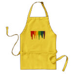 RAINBOW PAINT DRIPPINGS -.png Adult Apron