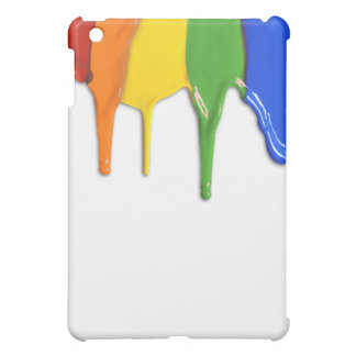 RAINBOW PAINT DRIPPINGS --.png iPad Mini Cover