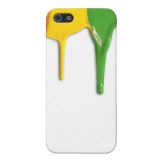 RAINBOW PAINT DRIPPINGS -.png iPhone 5 Cases
