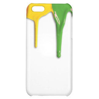 RAINBOW PAINT DRIPPINGS -.png iPhone 5C Case
