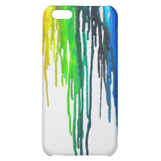 Rainbow Paint Drips Case For iPhone 5C