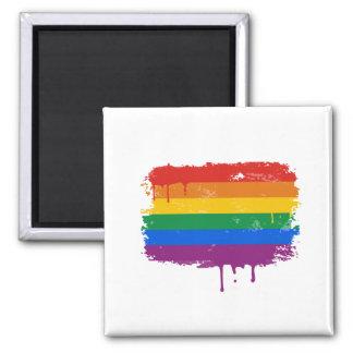 Rainbow Paint Magnet