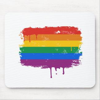 Rainbow Paint Mousepad