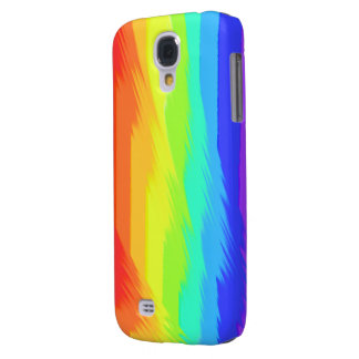 rainbow paint pattern samsung galaxy4 case