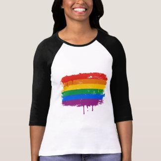 Rainbow Paint Shirt