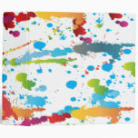rainbow paint splatter-01 3 ring binder
