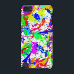 "Rainbow Paint Splatter iPod Touch 5G Case<br><div class=""desc"">Click here&gt; to view all of my iPod Touch Cases</div>"