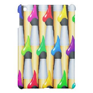 Rainbow Paintbrush Tips ~ Case For The iPad Mini
