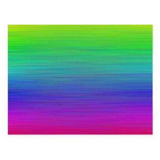 Rainbow Painting Postcard