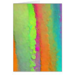 Rainbow Paints Greeting Card
