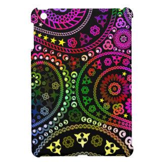 Rainbow Paisley iPad Mini Covers